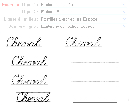 Coloriage Educatif Fiche Apprendre écrire